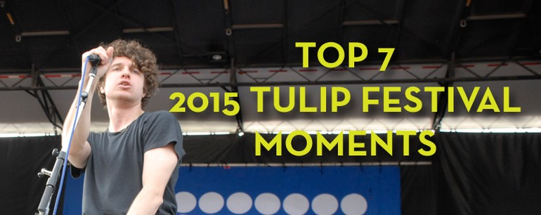 Top 7 moments from Tulip Festival 2015